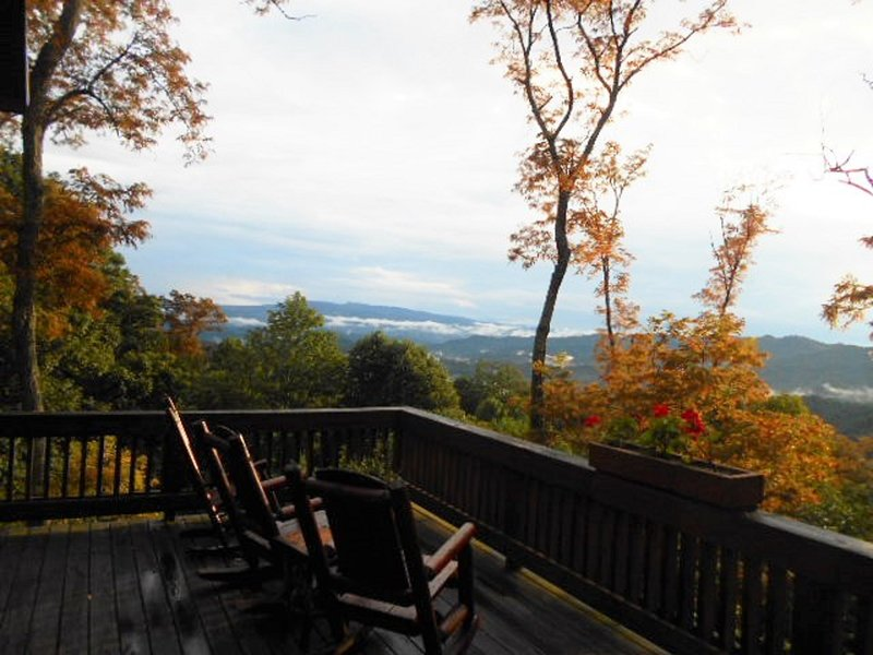 Awesome Mt. Views from our wrap around deck