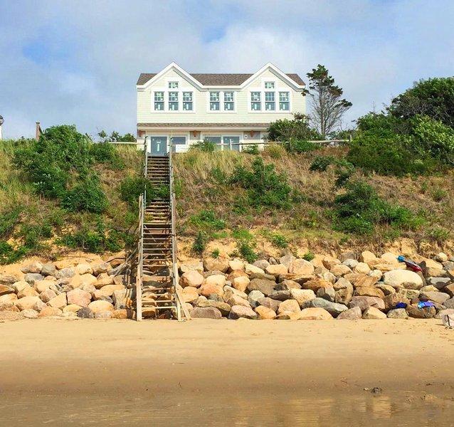 Bay Dream desde la playa! Pasos para su pequeño pedazo de cielo-1 Bayberry Lane Eastham Cape Cod - Nueva Inglaterra Alquileres de vacaciones
