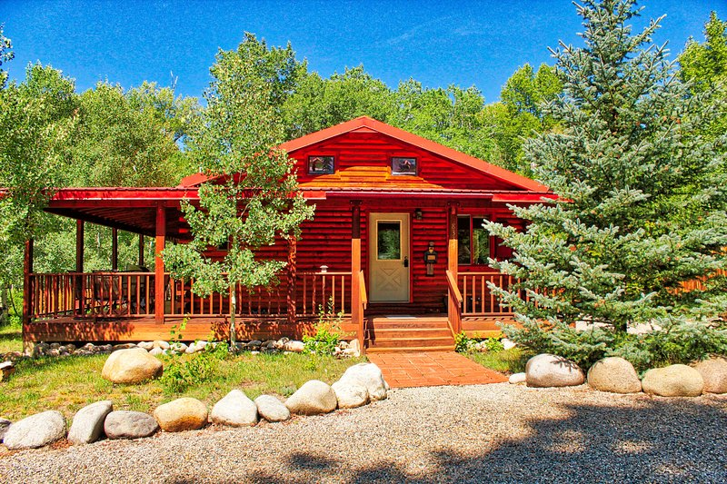 mountain river cabin riverside hot tub salida colorado updated 2019 rh tripadvisor com