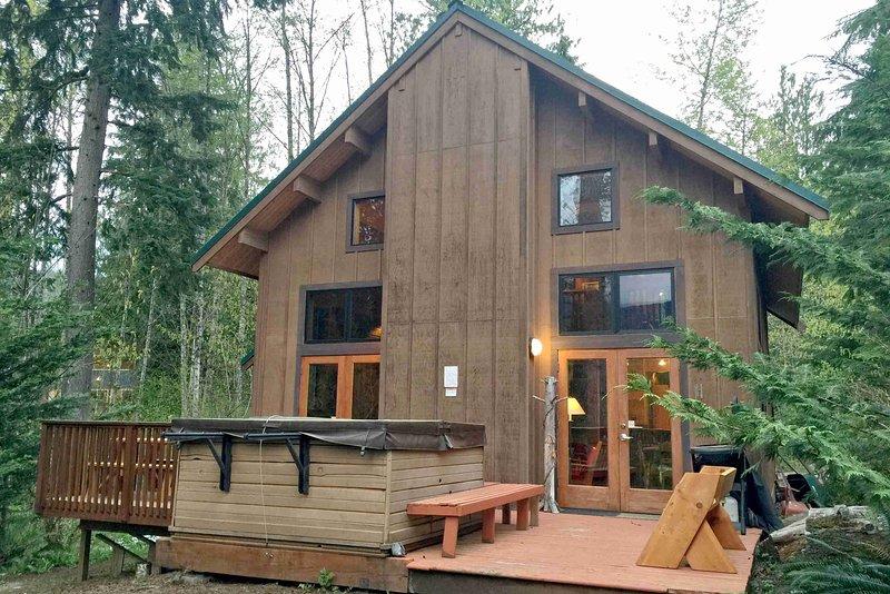Mt Baker Lodging Cabin 44 Hot Tub Fireplace Bbq W D Pets