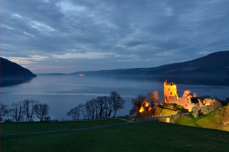 Urquhart Castle on the banks of Loch Ness near Drumnadrochit - 11 miles from The Bridge Suite