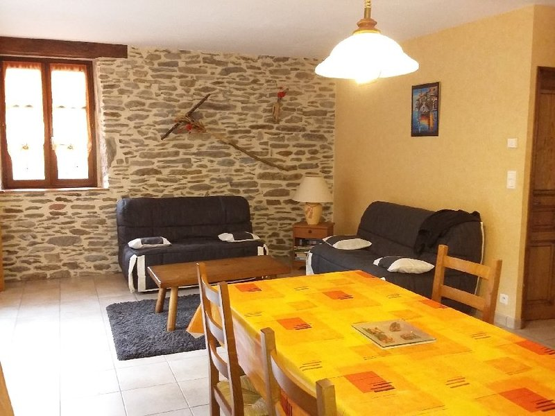 Nice house with mountain view, holiday rental in Rignac
