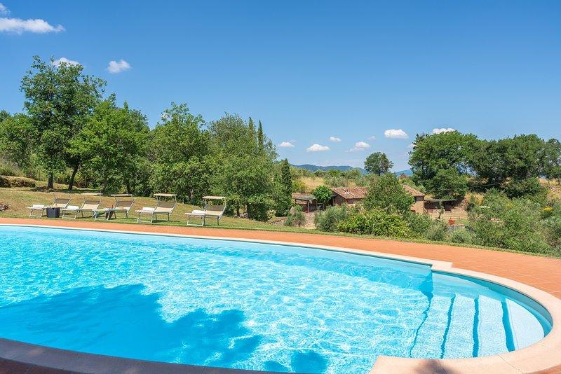 Podere Vecciale, holiday rental in Cavriglia
