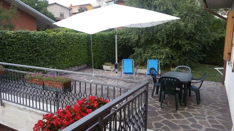 Virgilio Zanetti - Appartamento con 1 camera, primo piano, terrazza e giardino, casa vacanza a Pai