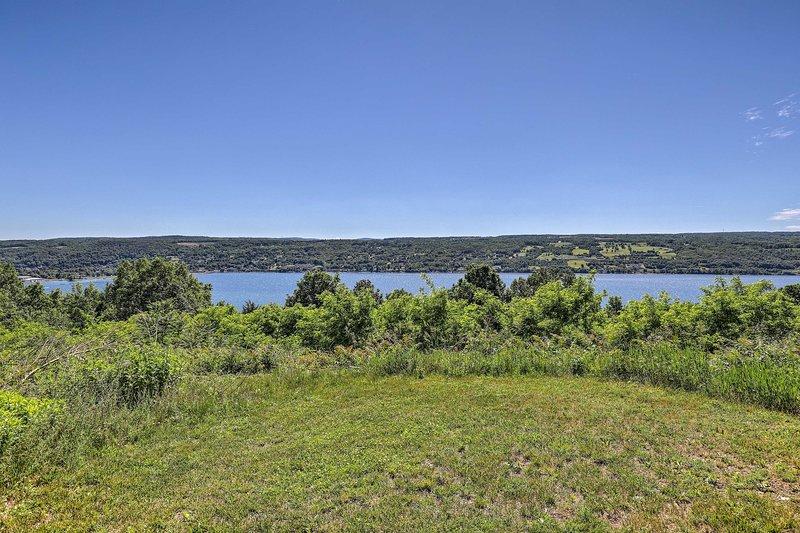 ¡Nunca te cansarás de estas vistas al lago!