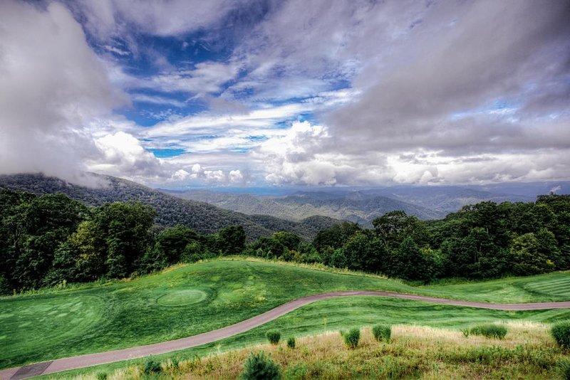 Magnificent mountainscape view
