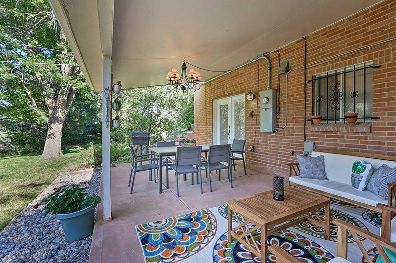 Elevate your Colorado getaway at this stunning Lakewood vacation rental.