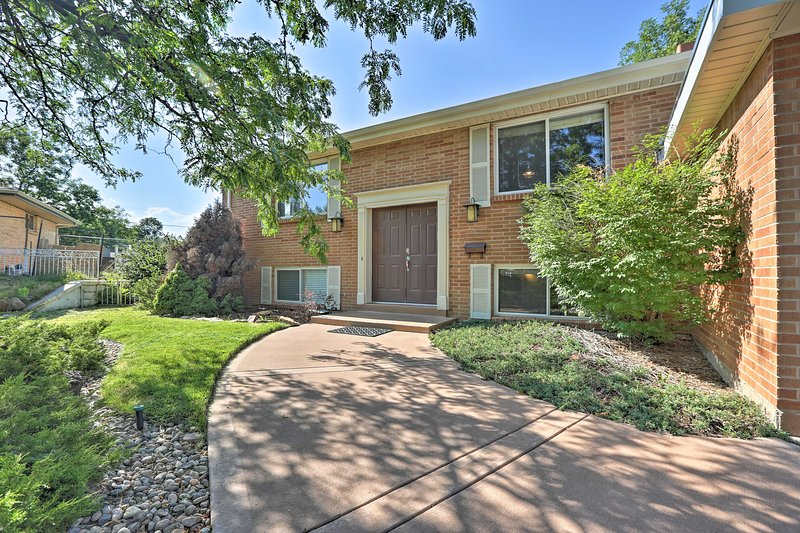 This home is just 10 miles away from downtown Denver!