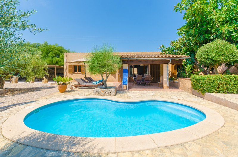 FINCA SA PLANA - Villa for 6 people in Son Servera, vacation rental in Costa De Los Pinos