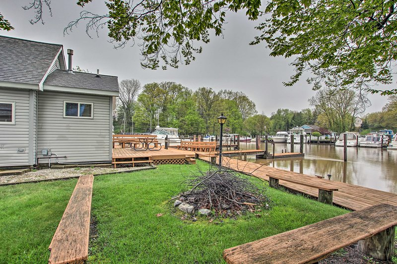 Kick back and relax at this South Haven vacation rental house!