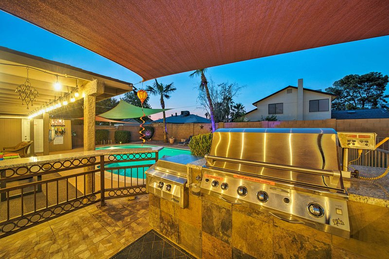 Book your Phoenix escape to this stunning 4-bedroom, 2-bath vacation rental!
