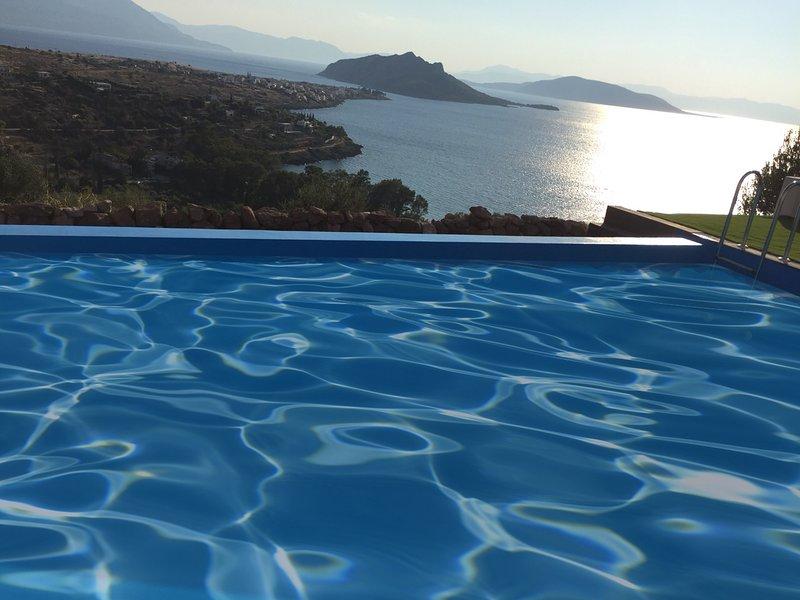 Aeginas Chromata Superior Villa, holiday rental in Aegina Town