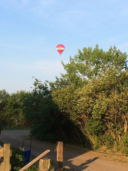 Des promenades en ballon et des vols panoramiques sont proposés à Kyritz.