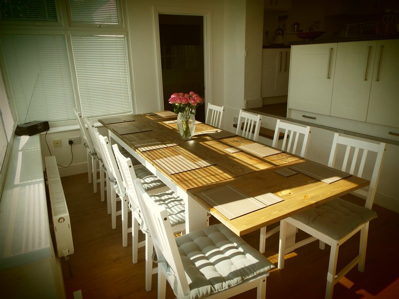 Dining Room to seat 10 guests.