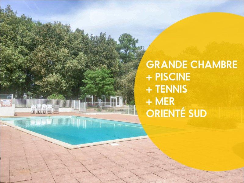 Piscine et tennis et proche plage, holiday rental in Jard-sur-Mer