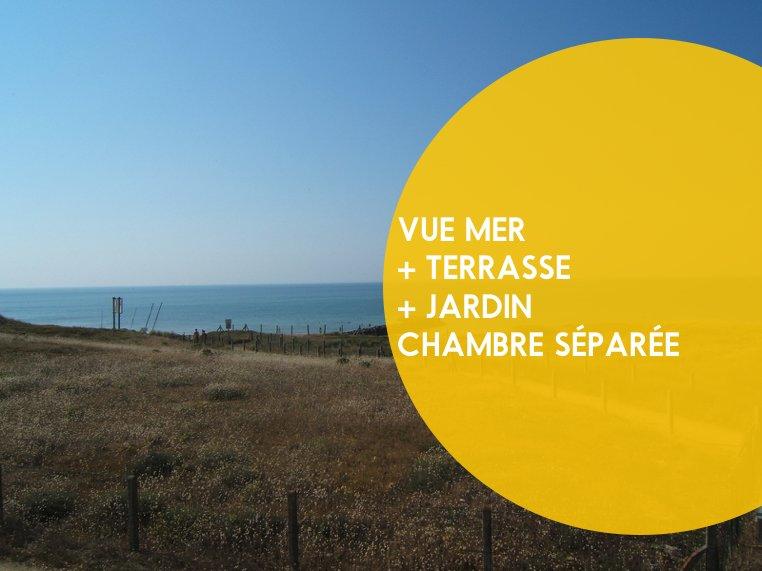 Maison grand jardin et vue sur mer, holiday rental in Jard-sur-Mer