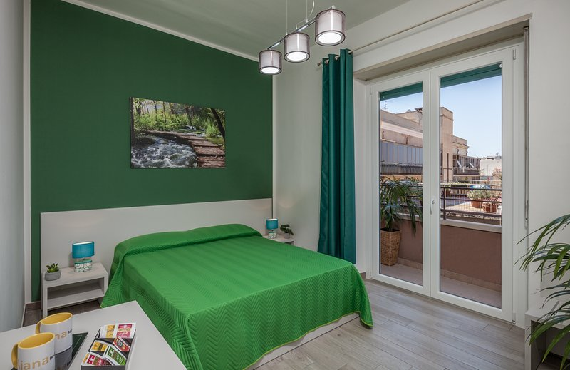 Forest Room - Ajana B&B in the center of Cagliari, holiday rental in La Maddalena