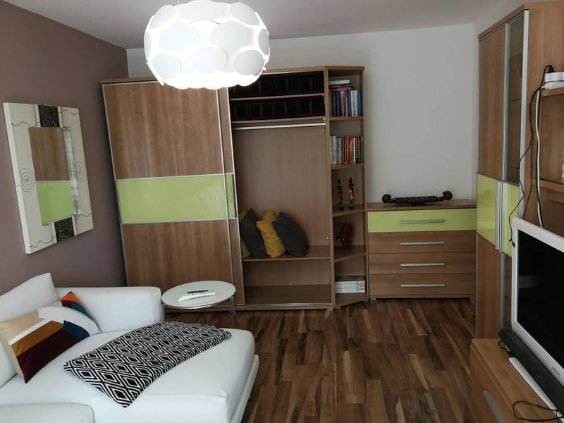 Renovated cosy apartment 10m from city center, holiday rental in Karlova Ves