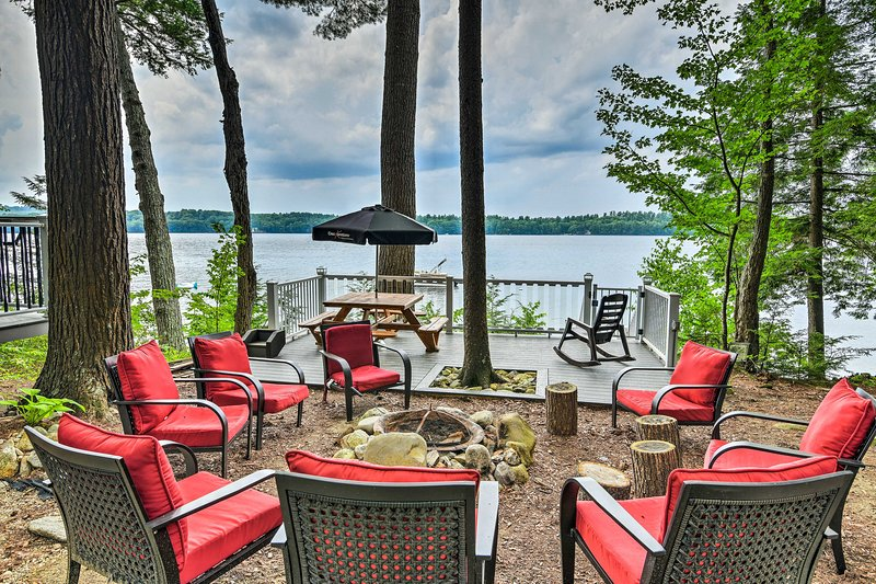 'The Maples' is the perfect starting point for all of your lake adventures!