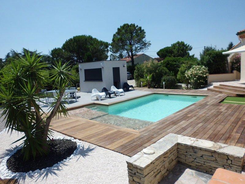Spacieuse villa avec piscine, vacation rental in Portiragnes