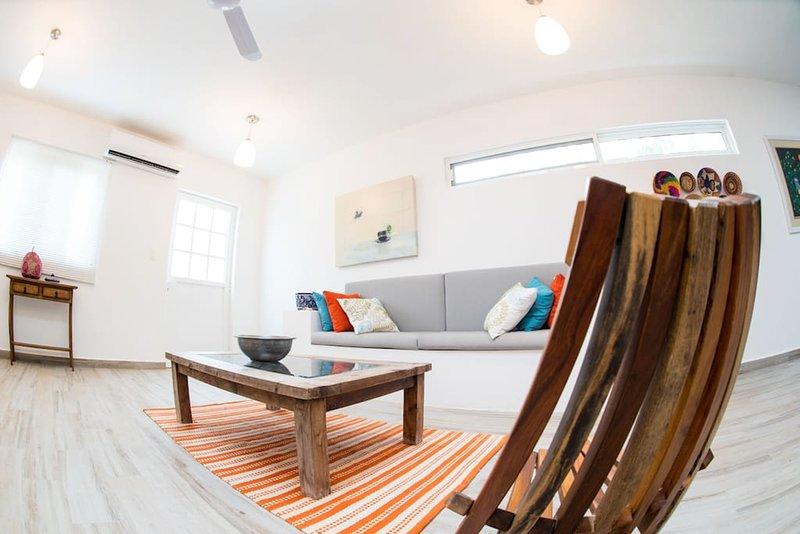 Loft nuevo y equipado, zona Norte Mérida, vacation rental in Merida