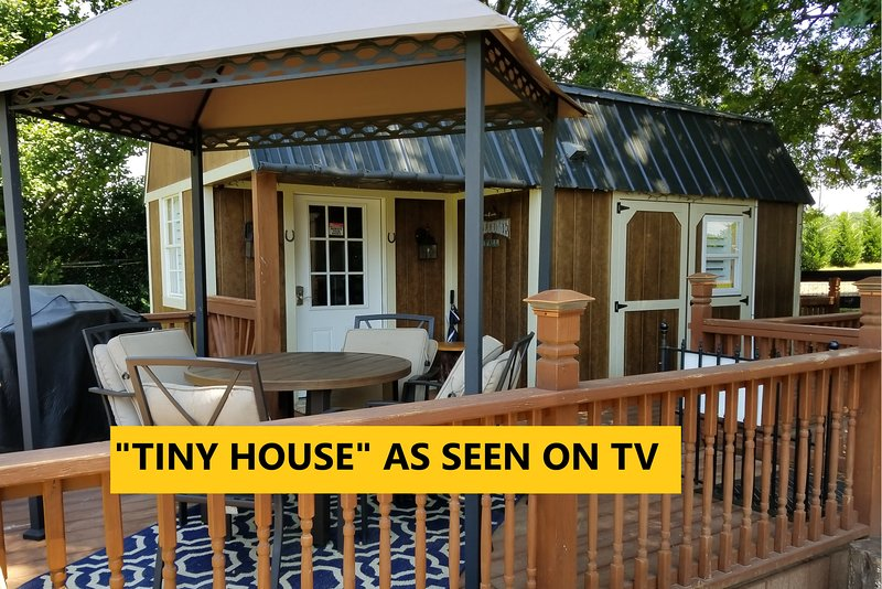 Magnificent Tiny House situated on horse ranch along with the very best in southern hospitality