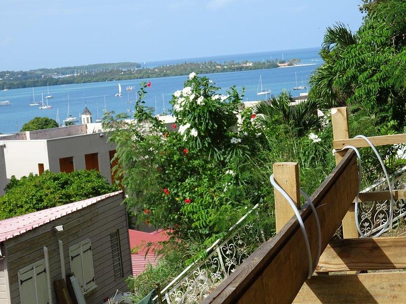 'Anthuriums de Midi' : Un éclat d'Antilles à Le Marin en MARTINIQUE., location de vacances à Le Marin