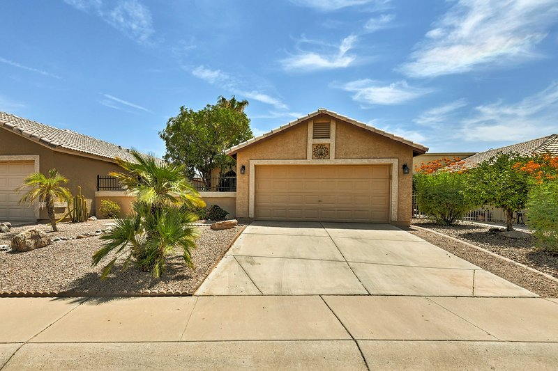 There's so much to explore in the desert and this home is close to it all!