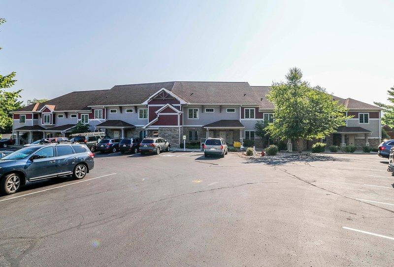 Wisconsin Dells Getaways Building con estacionamiento # 307