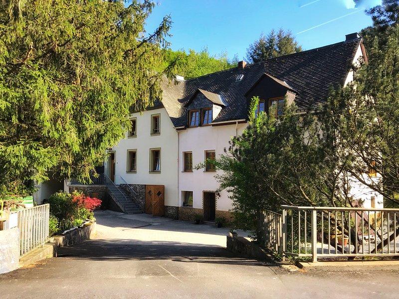 Dreiherrenmühle Vacation House, location de vacances à Blankenrath