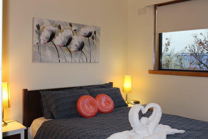 Hauptschlafzimmer - Doppelbett