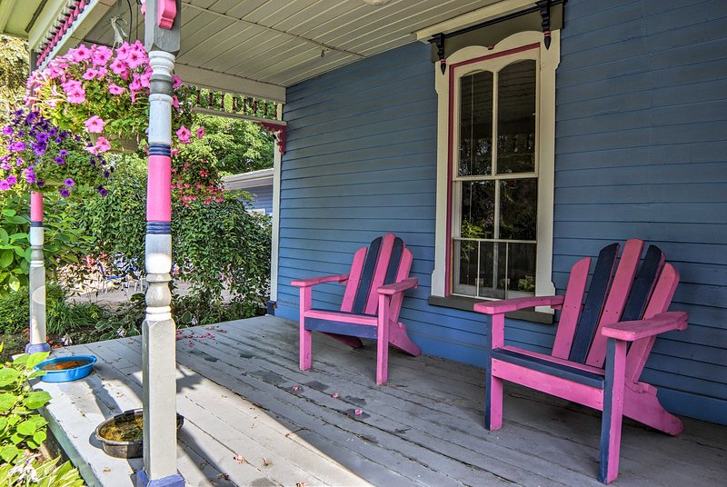 This historical home boasts a prime location just 4 blocks from the beach!