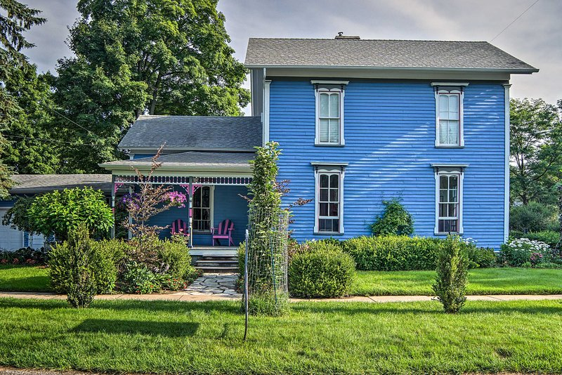 Welcome to your Michigan home-away-from-home brimming with numerous amenities!