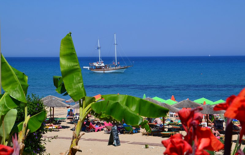 This wonderful coastline of Skala village is just 2,5 km away from the apartments - enjoy its beauty