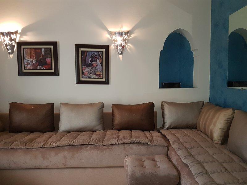 Dar ma ward, vacation rental in Rabat-Sale-Zemmour-Zaer Region