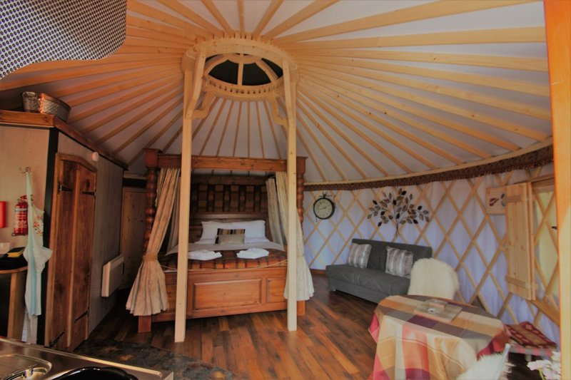 The Somerset Shire Yurt, casa vacanza a Catcott