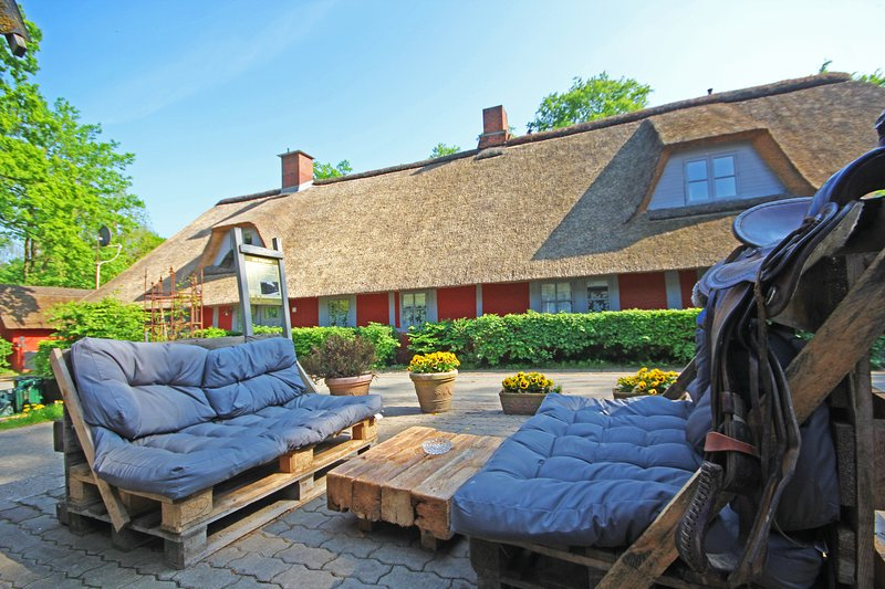 Wohnungen unter Reet - App Western Pleasure, holiday rental in Strenglin