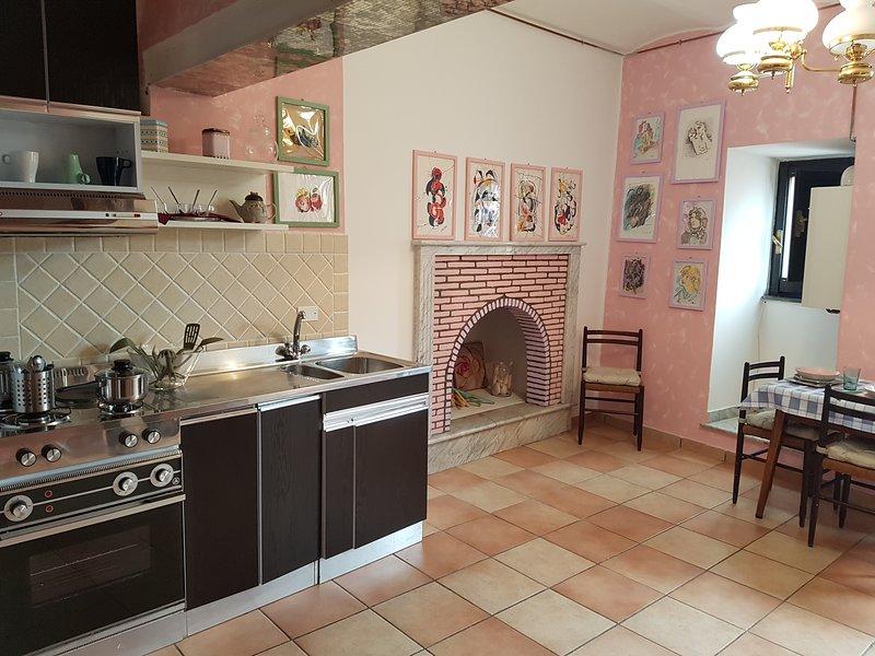 casa vacanza dell'artista, holiday rental in Poggiofiorito