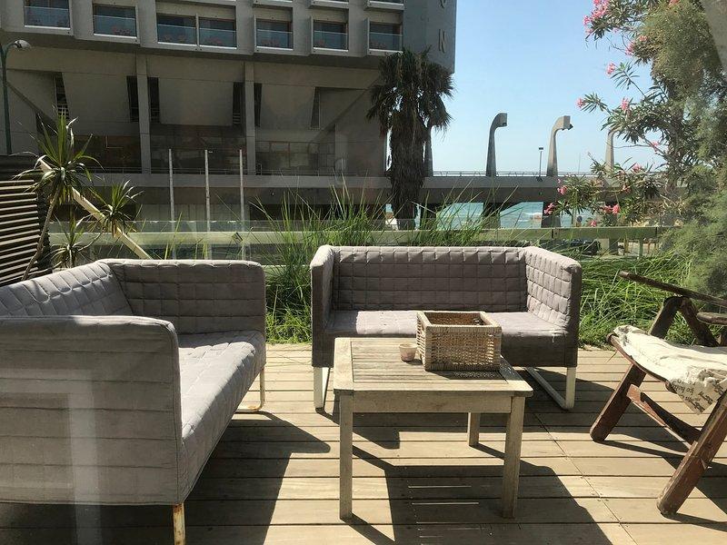 Green Gordon Beach Apartment, alquiler vacacional en Jaffa