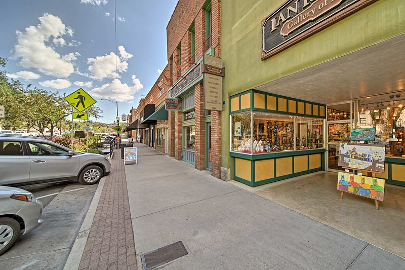 You'll love the variety of different local shopping spots around town!