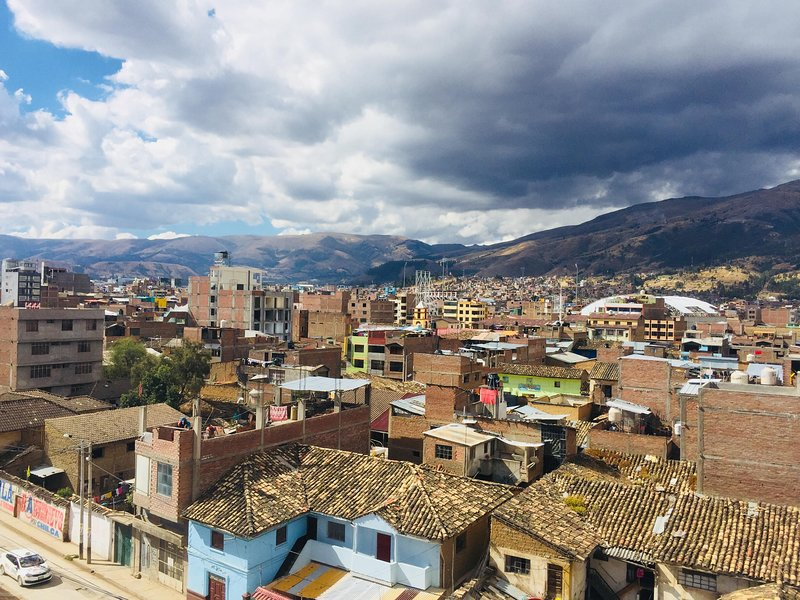 View for the district of Huancayo