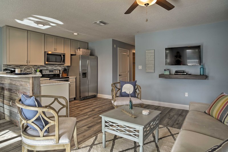 Plan your next escape to Cocoa Beach and stay at this vacation rental apartment.
