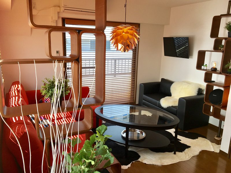 #6, 2BR Penthouse with 5 Beds in entertainment district, holiday rental in Ginza