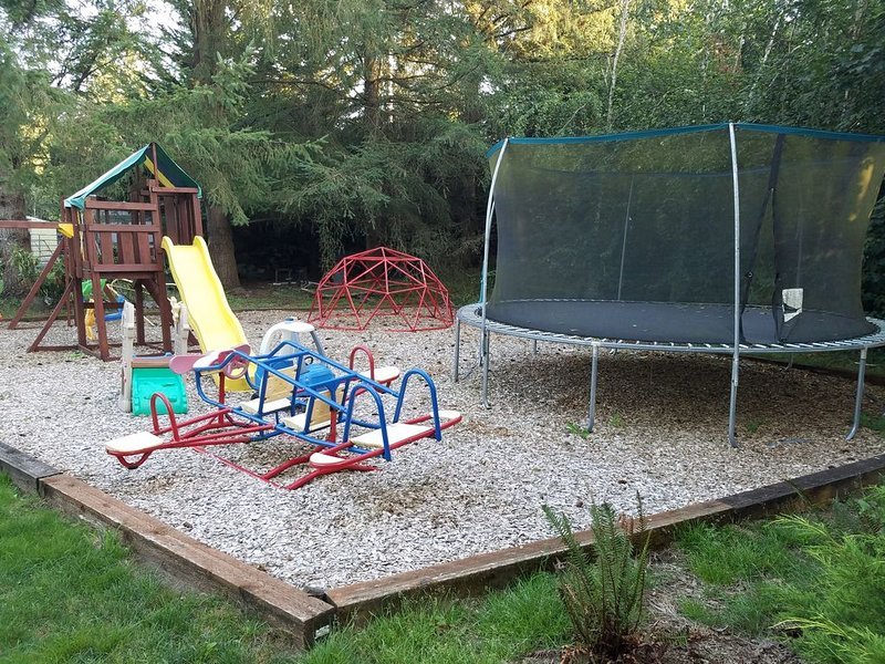 Playground for your children on site
