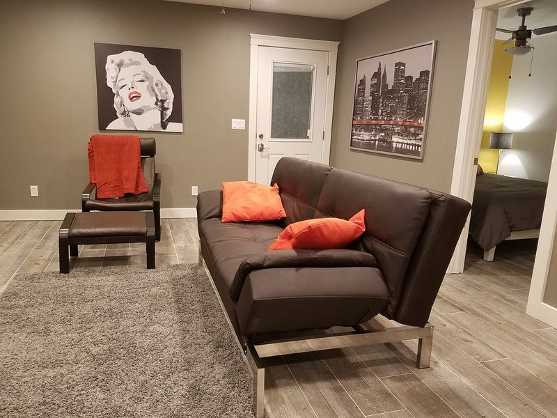 New, Modern and Cozy, Contemporary and comfort