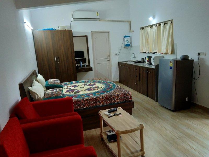 Studio near palolem beach, holiday rental in Patnem
