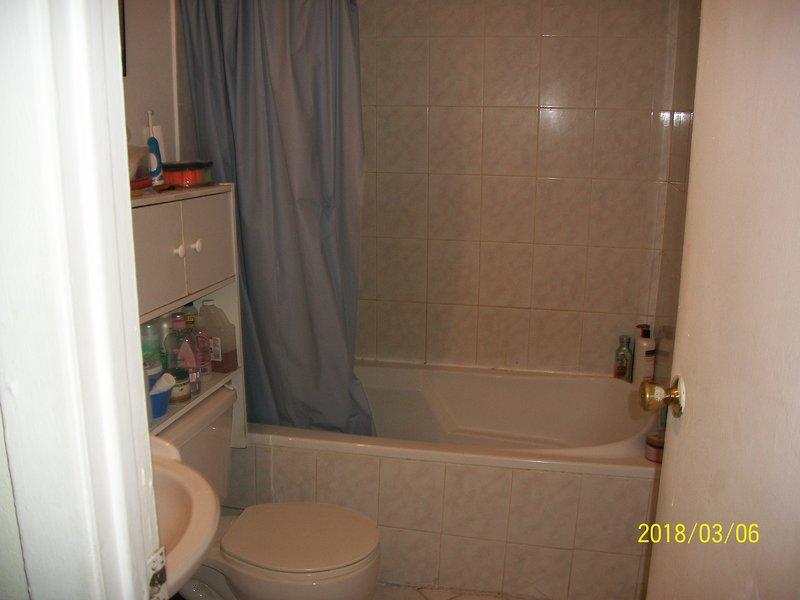 Bañera en el baño 1
