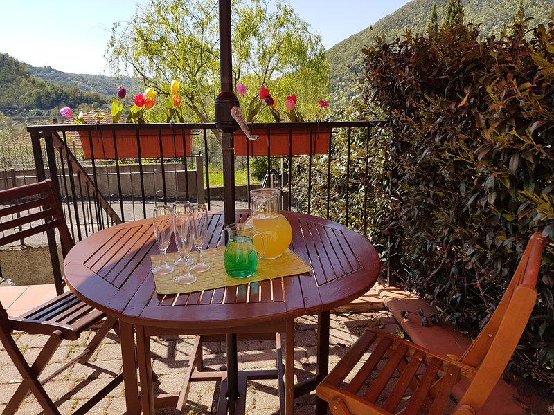 Casa Vacanza- Fra Lunigiana e Cinque Terre- Cappellino di Paglia, holiday rental in Aulla