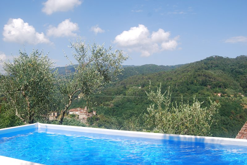 Appartamento 'Poggio Nocciolo', Tuscany, vacation rental in Pescia