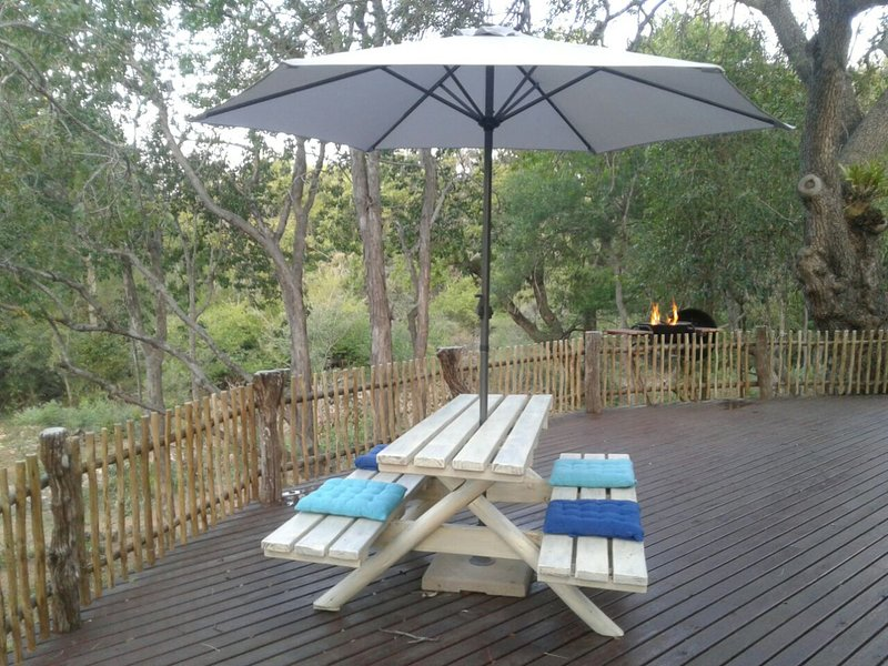 Blyde River Log Home, vacation rental in Makalali Private Game Reserve
